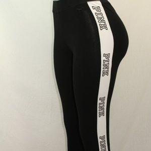 Pants - 🎀VS PINK logo leggings